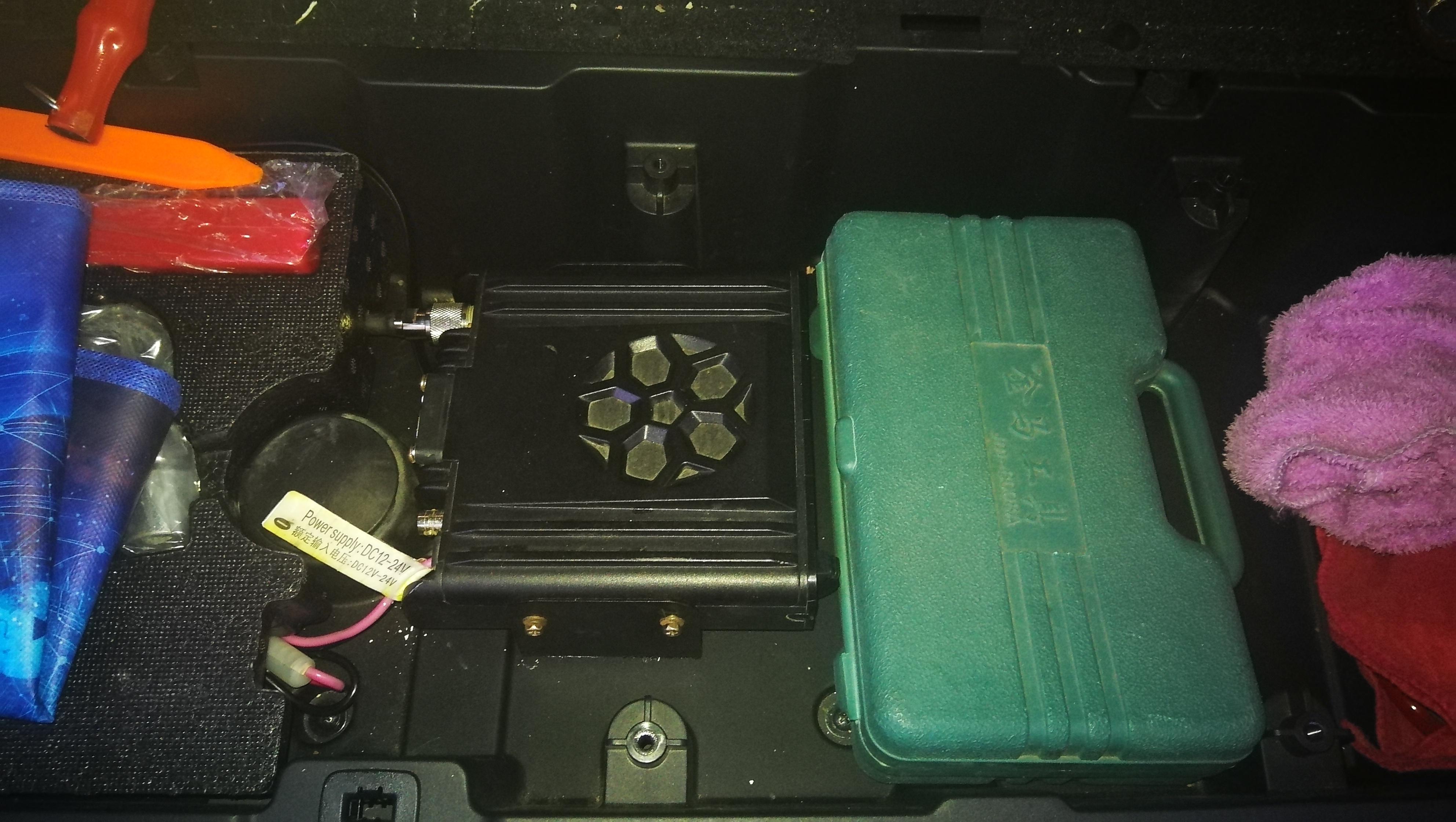 传祺GS8安装即时通D9000车台