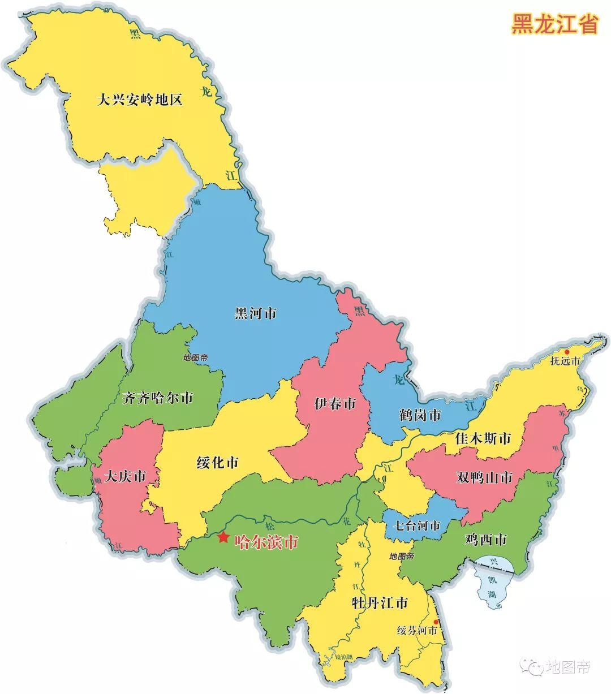 加格达奇为什么地理位置在内蒙古行政管辖在黑龙江?历史原因是什么呢?